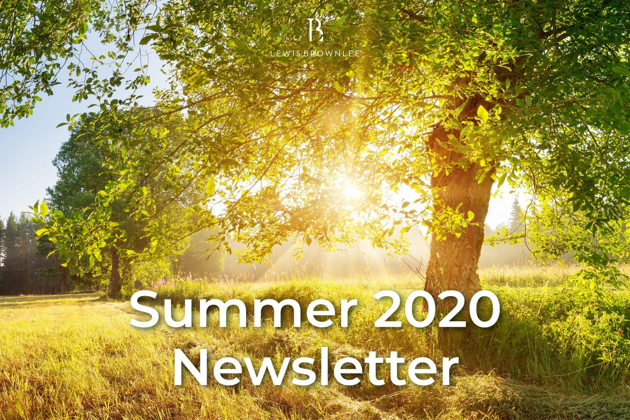 Lewis Brownlee Summer 2020 Newsletter
